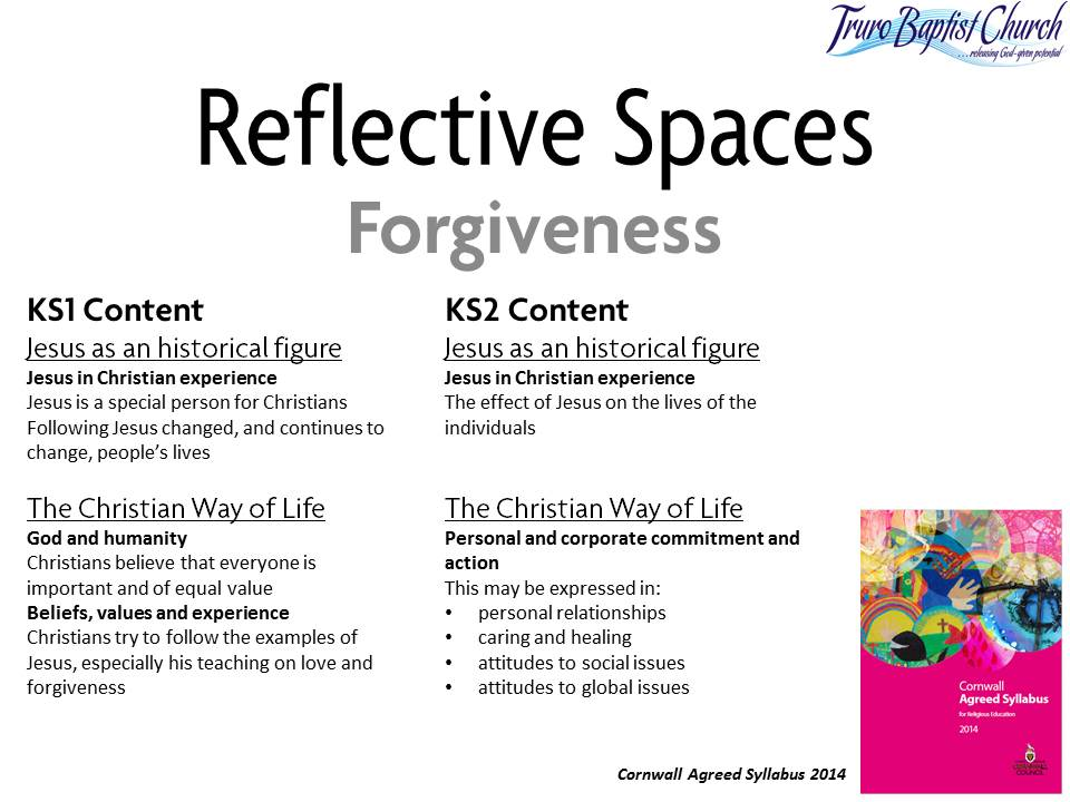 Reflective Spaces Forgiveness 2