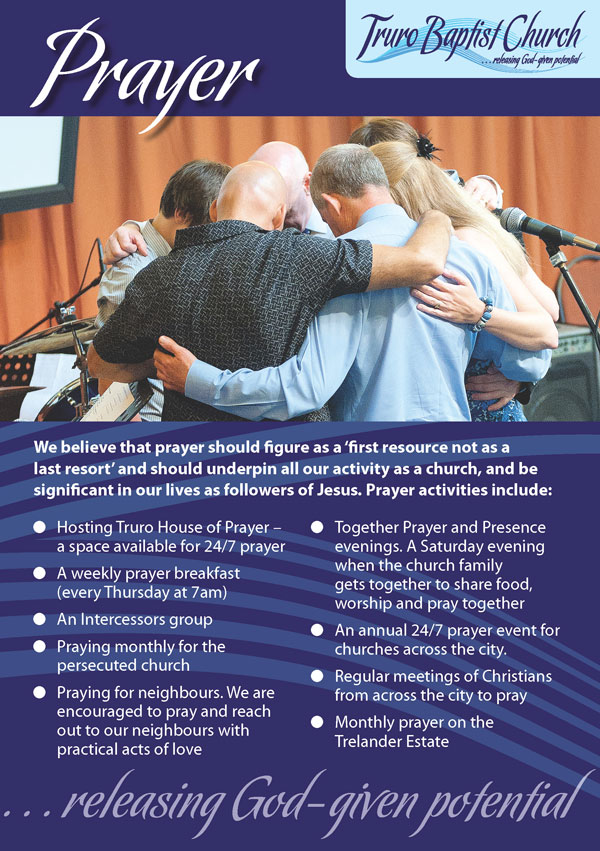 Truro Baptist Church | Releasing God-given potential